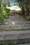 De stappen van de bergsleep in de lente Royalty-vrije Stock Fotografie