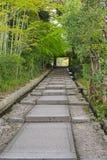 De stappen van de daidokoro-Zakasteen in Higashiyama -higashiyama-ku in Kyoto, Japan stock afbeeldingen