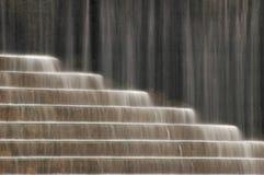 De Stappen van de fontein Stock Afbeelding