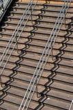 De stappen van de metro, de Stad van New York stock foto's