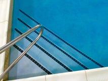 De stappen van de pool stock fotografie