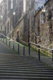 De stappen van Edinburgh royalty-vrije stock afbeeldingen