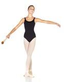 De Stappen van het ballet Stock Afbeelding