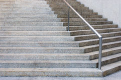 De stappen van het graniet Royalty-vrije Stock Afbeeldingen