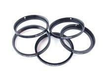 De stappende ringen van de filter Royalty-vrije Stock Afbeelding