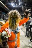 ` De Star Wars de ` cosplay photos libres de droits