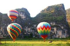 De Start van ballons Stock Afbeeldingen