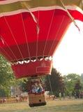 De start van de hete luchtballon royalty-vrije stock fotografie