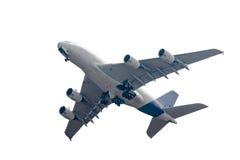 De start van het vliegtuig Stock Afbeelding
