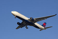 De start van het vliegtuig Royalty-vrije Stock Afbeelding