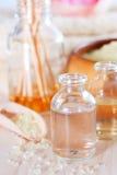 De station thermale toujours la vie avec les huiles essentielles Photo stock