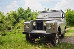 De Stationcar van de Landrover Royalty-vrije Stock Foto's