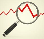 De statistiekanalyse Stock Fotografie