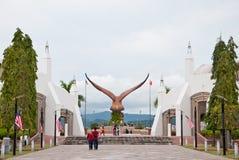 De status van adelaar in Langawi Royalty-vrije Stock Foto's