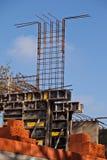 De staven van de bekisting en van het staal Royalty-vrije Stock Afbeeldingen