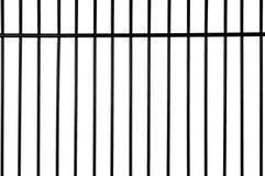 De staven van de gevangenis Stock Foto's