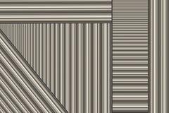 De Staven van het aluminium Stock Fotografie