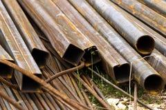 De staven van het ijzer stock afbeelding