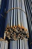 De staven van het staal stock foto