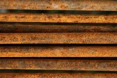 De staven van het staal Stock Foto's