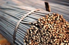De staven van het staal Stock Afbeelding