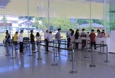 de 21ste Eeuwmuseum Kanazawa Stock Foto