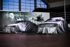 de 49ste Internationale auto van Belgrado toont Stock Afbeeldingen