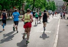de 24ste marathon van Nordea Riga Royalty-vrije Stock Foto