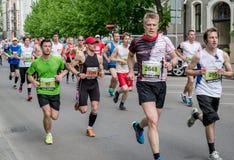 de 24ste marathon van Nordea Riga Stock Afbeelding