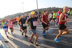 de 37ste Marathon van Vodafone Istanboel Royalty-vrije Stock Afbeeldingen