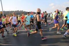 de 37ste Marathon van Vodafone Istanboel Royalty-vrije Stock Foto