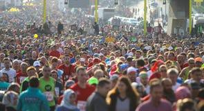 de 37ste Marathon van Vodafone Istanboel Royalty-vrije Stock Afbeelding
