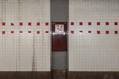 de 34ste Post van de Straatmetro Royalty-vrije Stock Fotografie