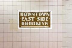 de 34ste Post van de Straatmetro - de Stad van New York Royalty-vrije Stock Afbeeldingen