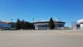 de 21ste wereldbeker 2018 van FIFA Stadion heilige-Petersburg stock video