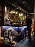 De stedelijke Bar van de Voedselmarkt stock afbeelding