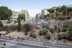 De stedelijke scène van Rome Royalty-vrije Stock Afbeeldingen