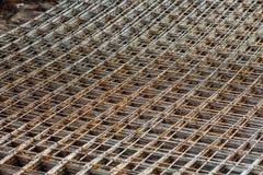 De stedelijke stichting van bouwgebouwen Stock Afbeelding