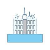 De stedelijke torenbouw Stock Afbeelding