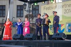 De steden 2014 van de festivalpartner Stock Foto's