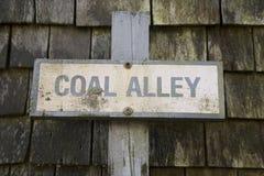 De Steeg Nantucket van de steenkool Royalty-vrije Stock Fotografie