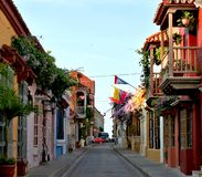 De Steeg van Cartagena Stock Foto