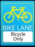 De steeg van de fiets vector illustratie