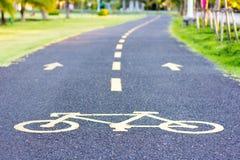 De steeg van de fiets royalty-vrije stock afbeeldingen