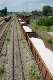 De steeg van de trein Stock Fotografie