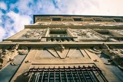 De steeg van Genua royalty-vrije stock foto's
