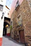 De steeg van Guanajuato Stock Afbeeldingen