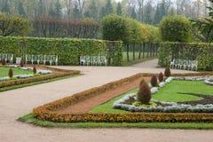 De steeg van het park Royalty-vrije Stock Afbeelding