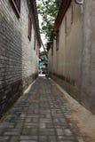 De steeg van Peking royalty-vrije stock afbeeldingen