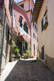 De Steeg van Toscanië Stock Afbeeldingen